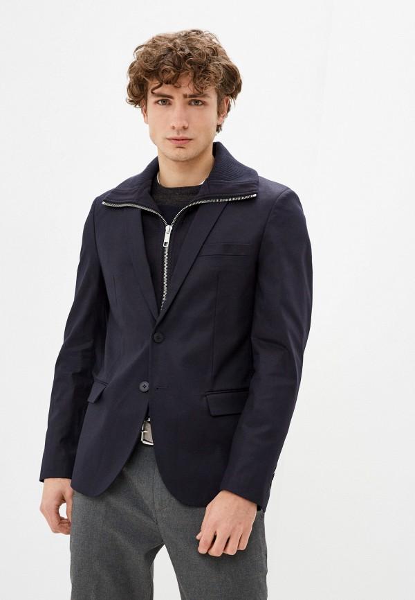 мужской пиджак antony morato, синий