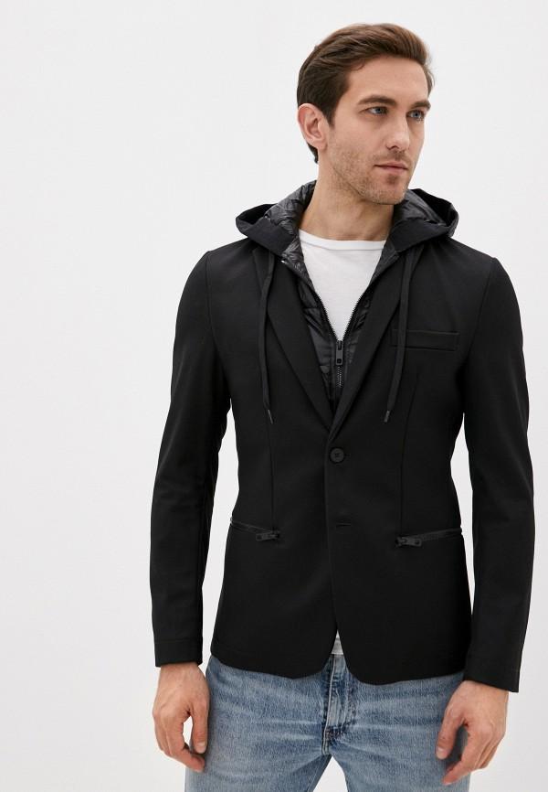мужской пиджак antony morato, черный