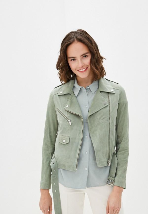 женская куртка arma, зеленая