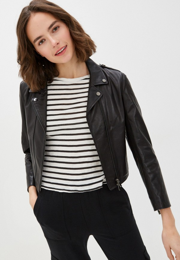 женская куртка arma, черная