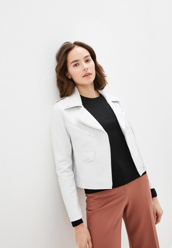 женская куртка arma, белая