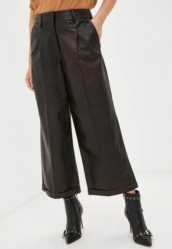 женские брюки arma, коричневые