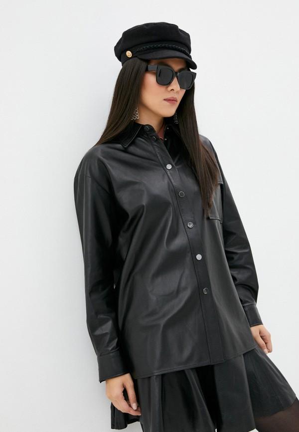 женская блузка arma, черная