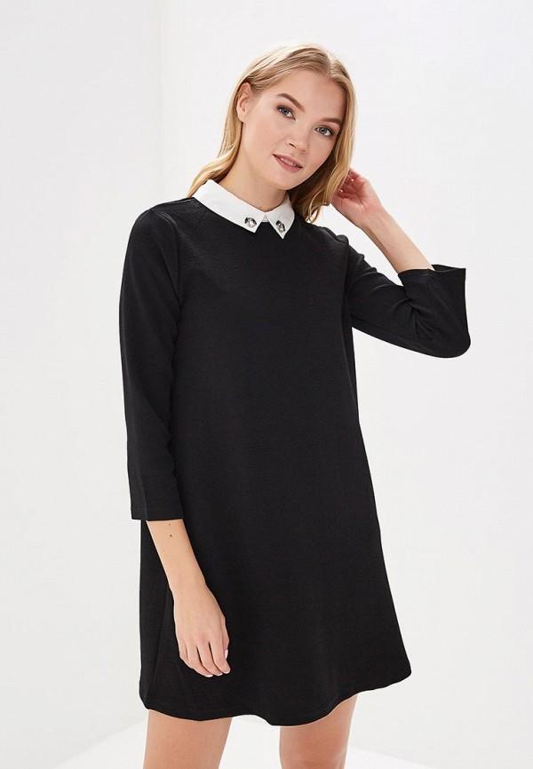 женское повседневные платье art love, черное