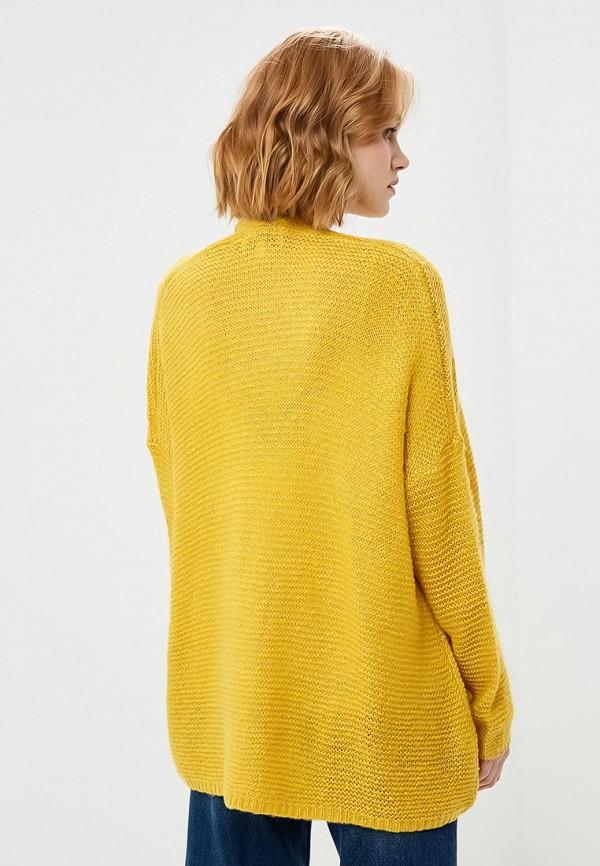 Фото 3 - женский кардиган Art Love желтого цвета