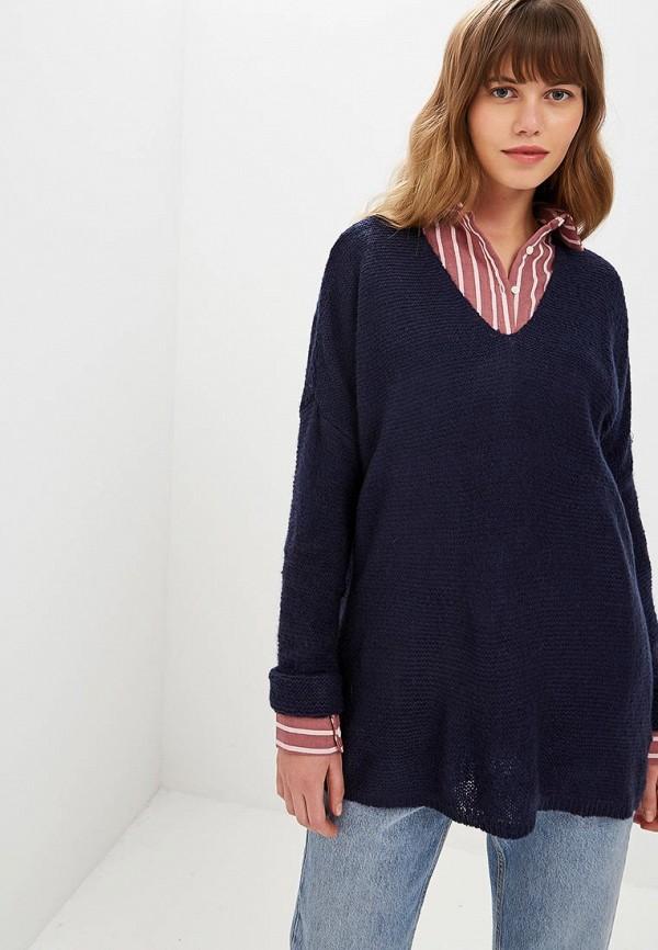 женский пуловер art love, синий