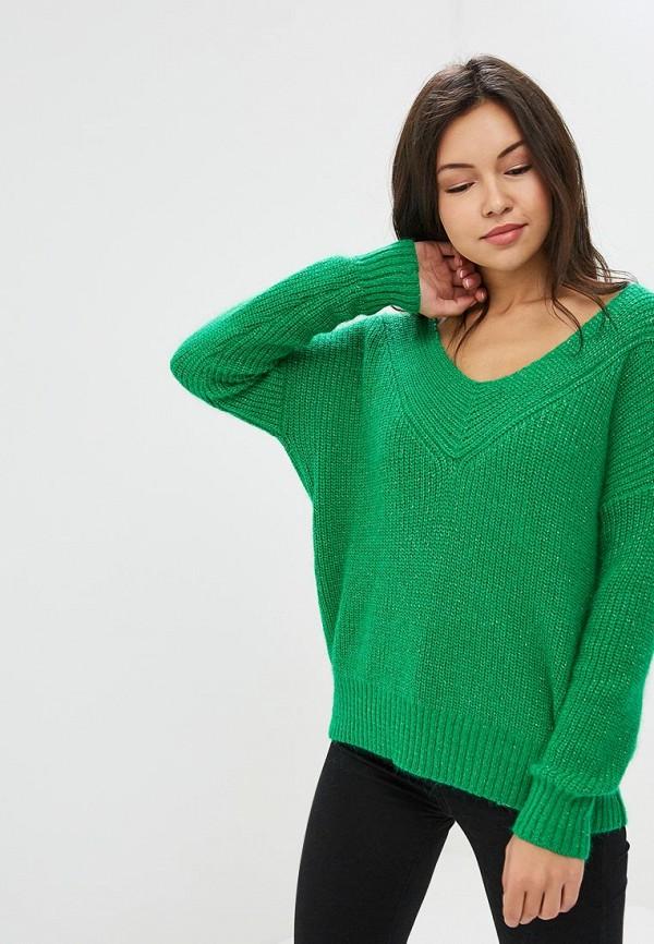 женский пуловер art love, зеленый