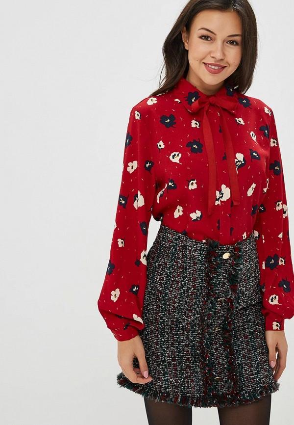 женская блузка art love, красная