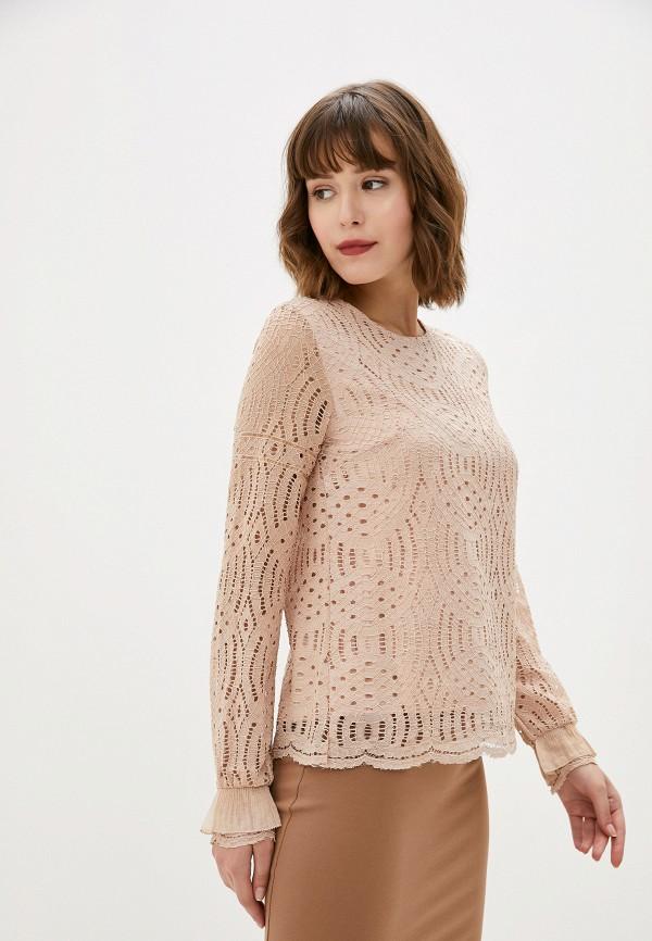 женская блузка art love, розовая