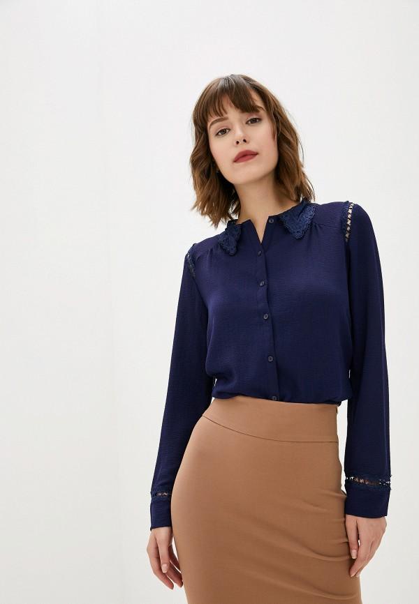 женская блузка art love, синяя