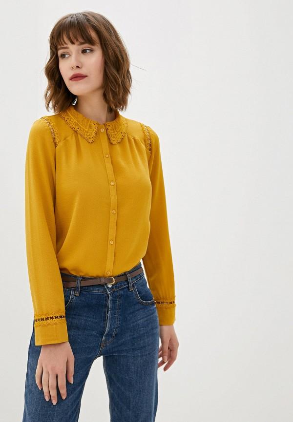 женская блузка art love, желтая