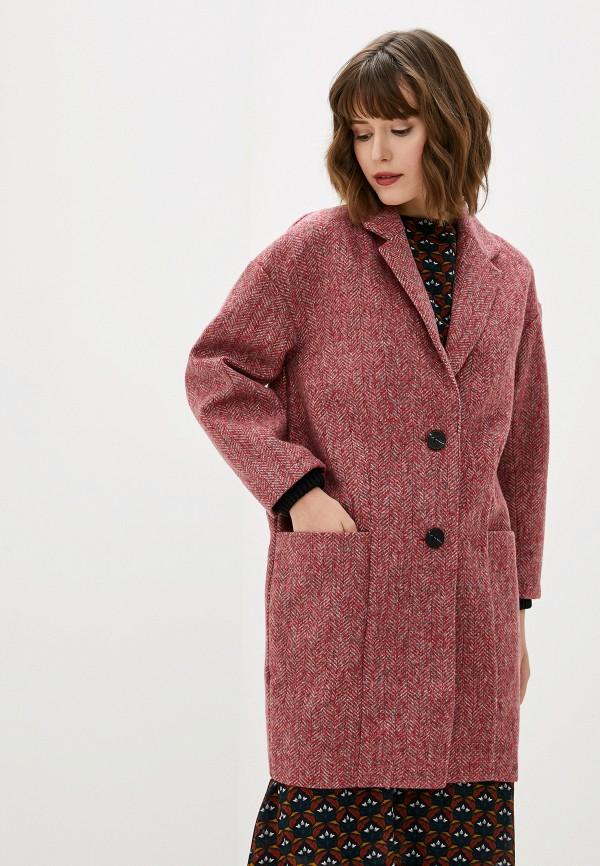 женское пальто art love, красное