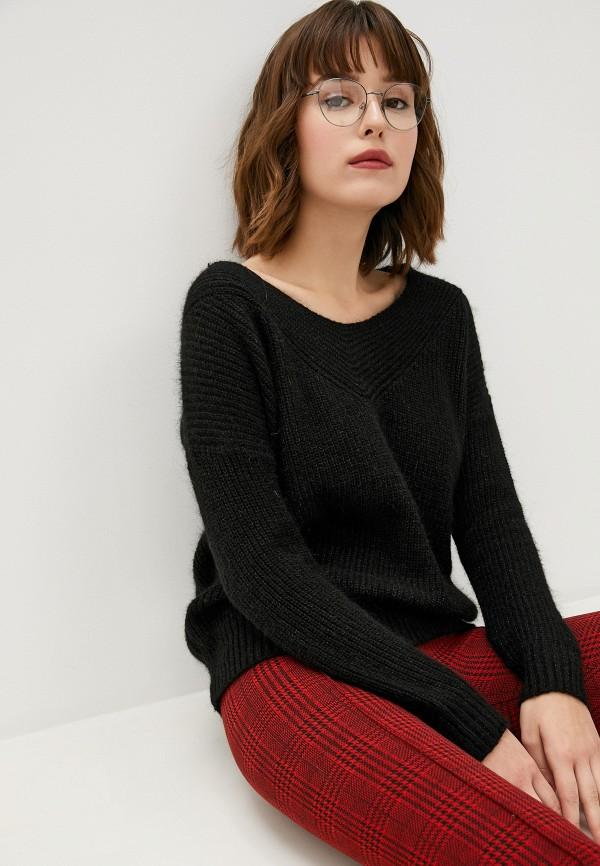 женский пуловер art love, черный