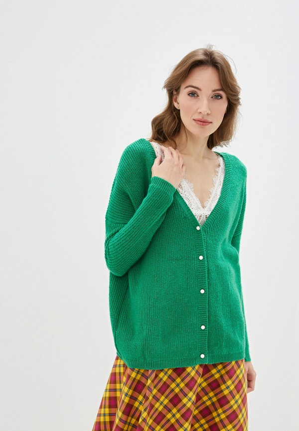 женский кардиган art love, зеленый