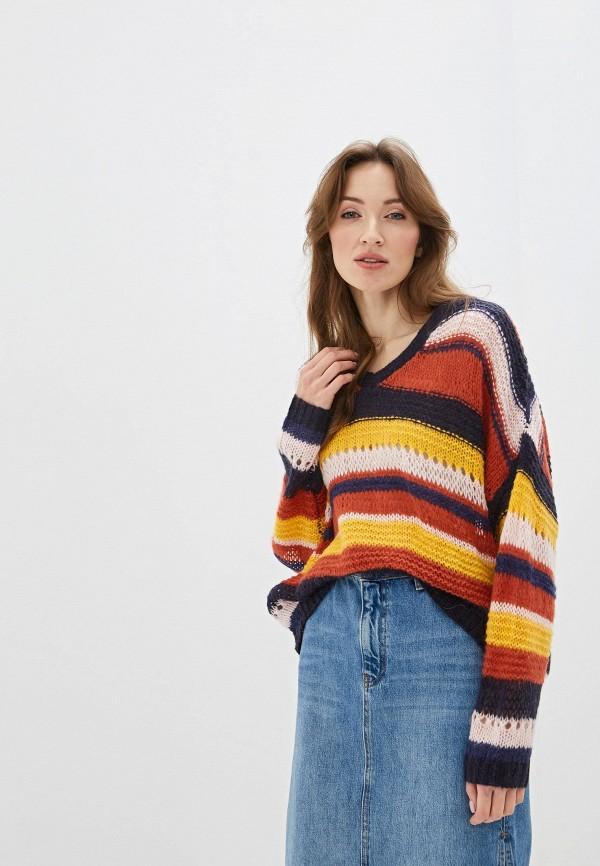 женский пуловер art love, разноцветный