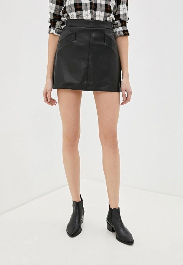 женская юбка art love, черная