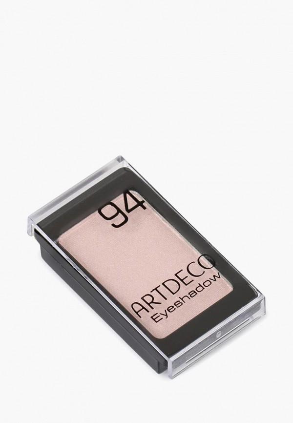 тени для век artdeco, розовый