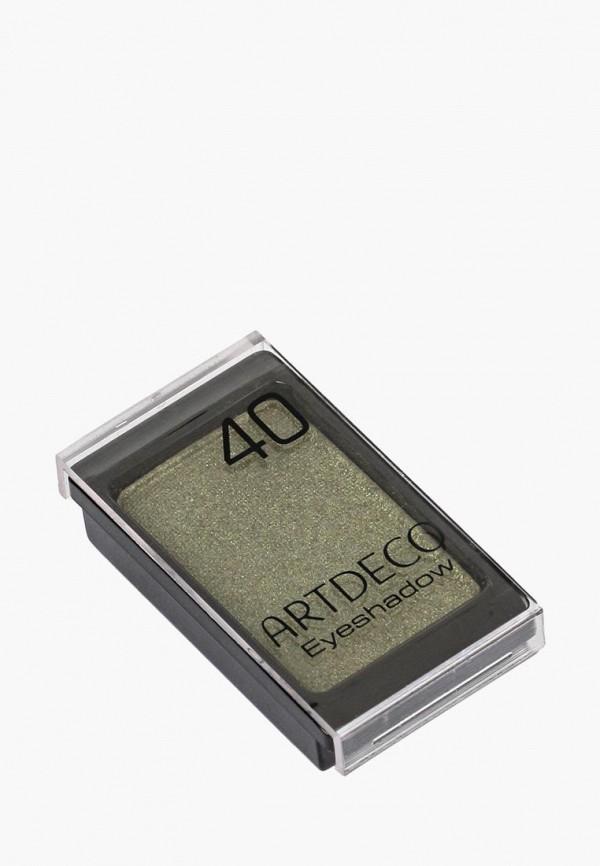 тени для век artdeco, зеленый