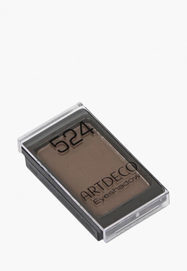 тени для век artdeco, коричневый