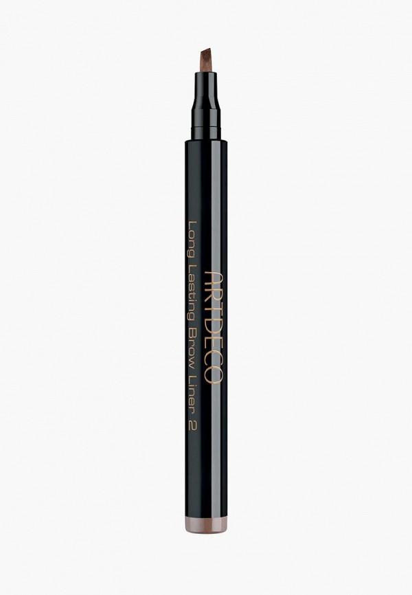карандаш для бровей artdeco, коричневый