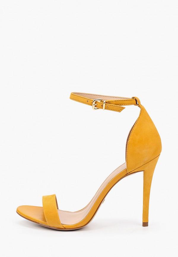 женские босоножки arezzo, желтые