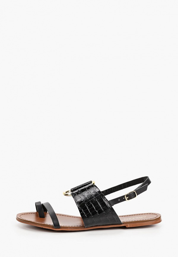 женские сандалии arezzo, черные