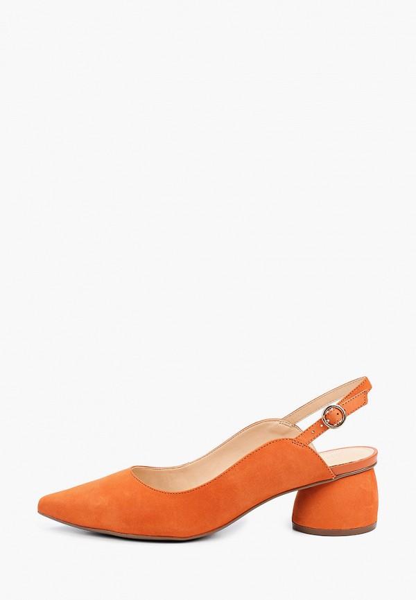 женские туфли arezzo, оранжевые