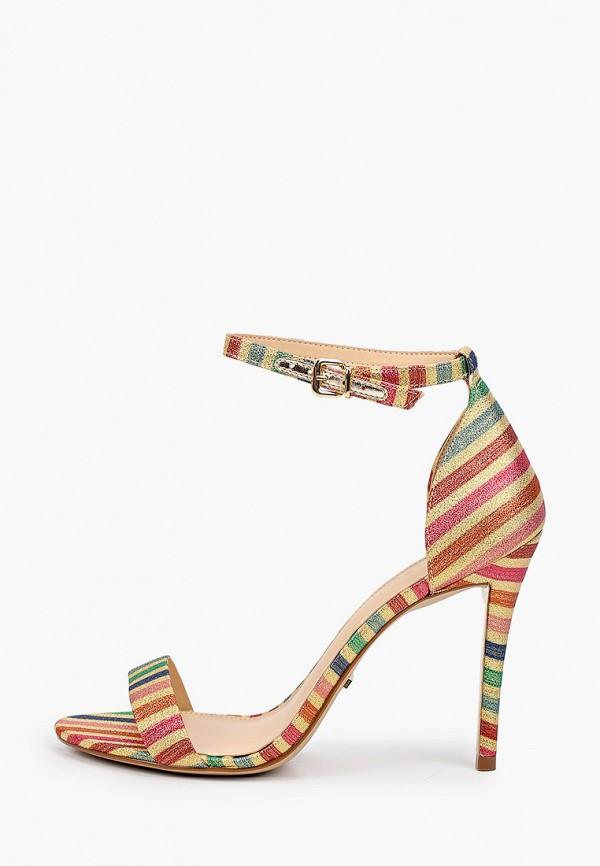 женские босоножки arezzo, разноцветные