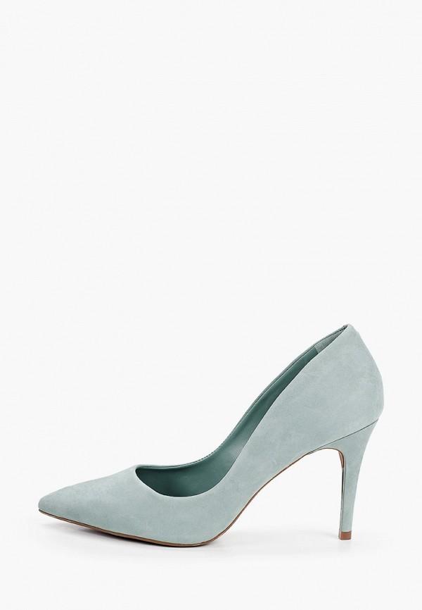 женские туфли-лодочки arezzo, бирюзовые