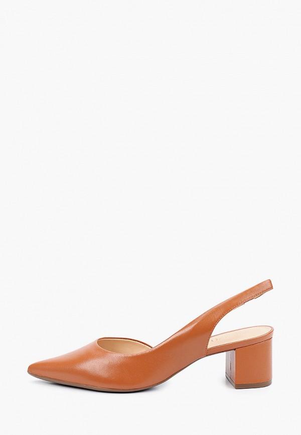 женские туфли arezzo, коричневые