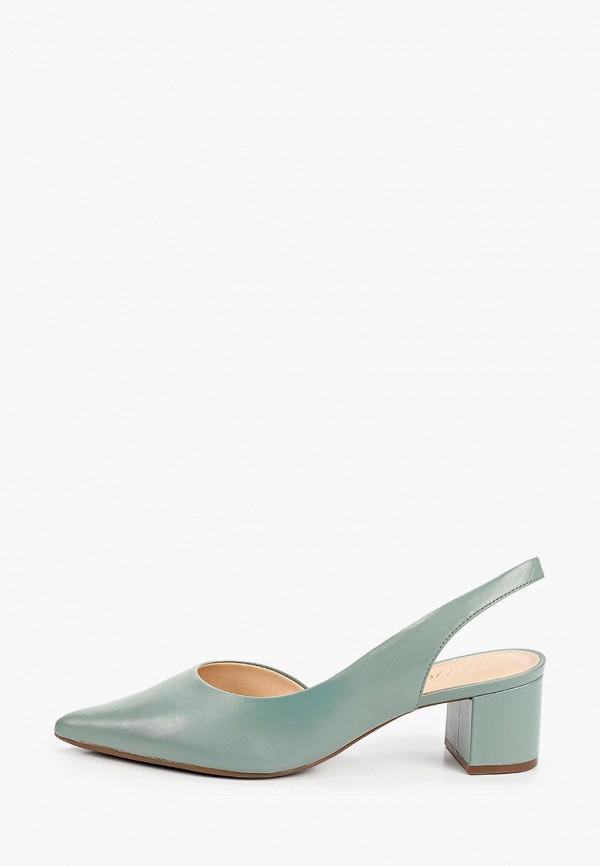 женские туфли arezzo, зеленые