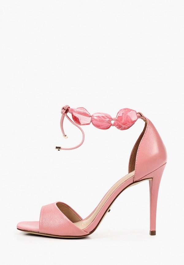 женские босоножки arezzo, розовые