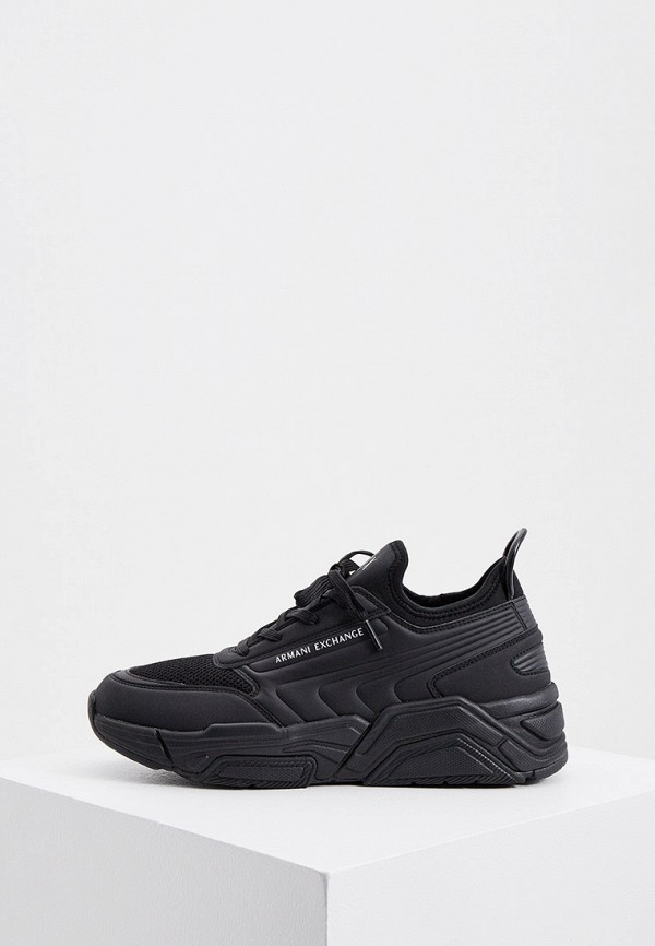 мужские кроссовки armani exchange, черные