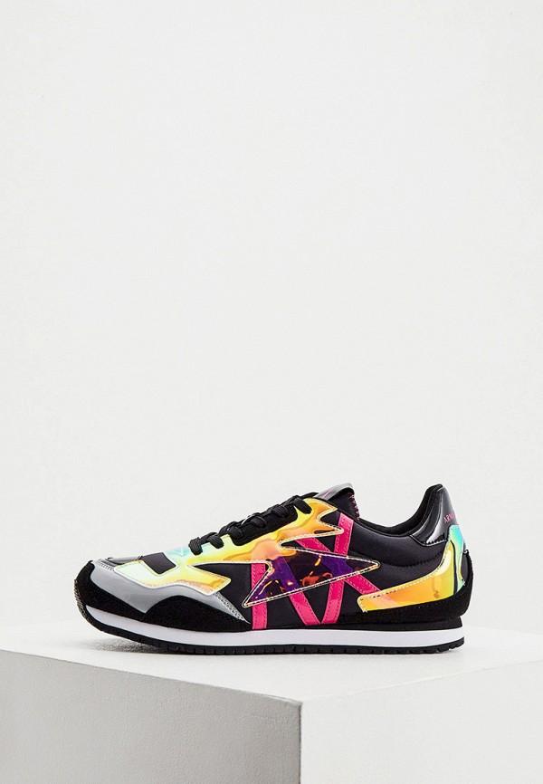 женские кроссовки armani exchange, разноцветные