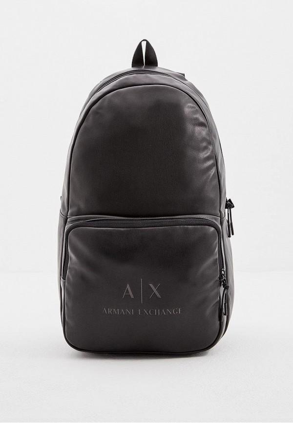 Купить Рюкзак Armani Exchange, AR037BMBKSA3, черный, Осень-зима 2018/2019
