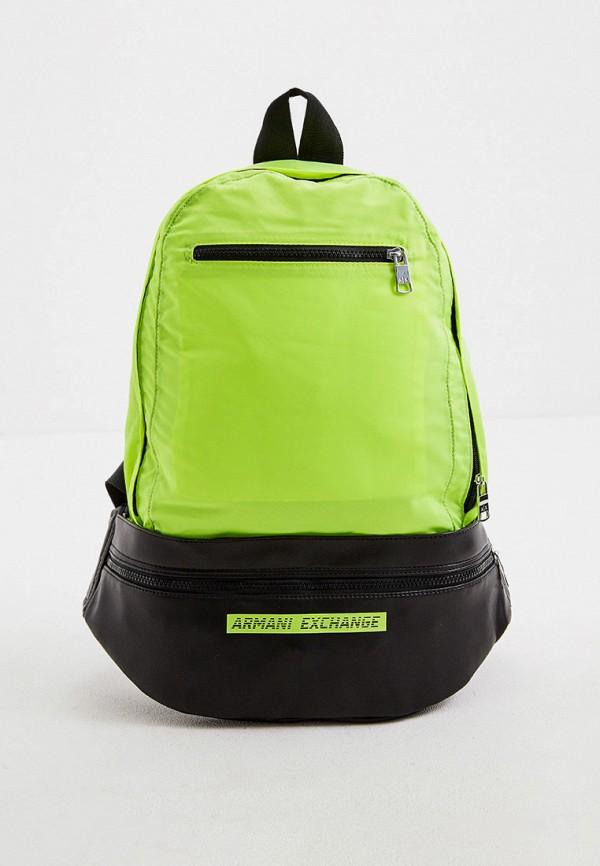 мужской рюкзак armani exchange, желтый