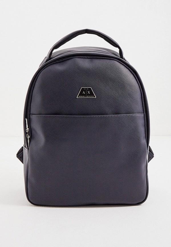 мужской рюкзак armani exchange, синий