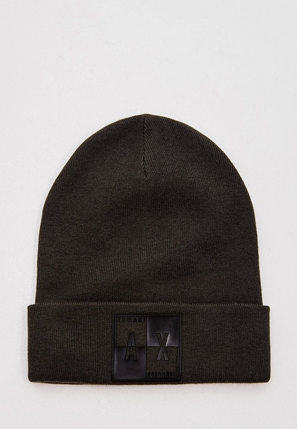 мужская шапка armani exchange, хаки