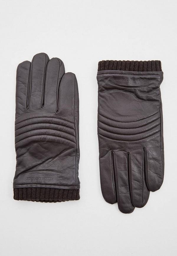 Купить Перчатки Armani Exchange, Armani Exchange AR037DMBKRZ6, коричневый, Осень-зима 2018/2019
