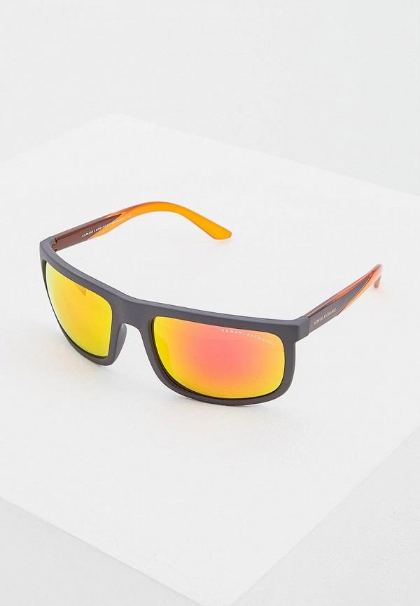 Очки солнцезащитные Armani Exchange Armani Exchange AR037DMEMGV7 очки солнцезащитные armani exchange armani exchange ar037dmhftr5