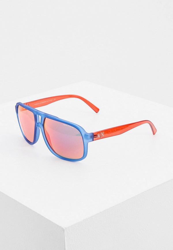 мужские солнцезащитные очки armani exchange, синие