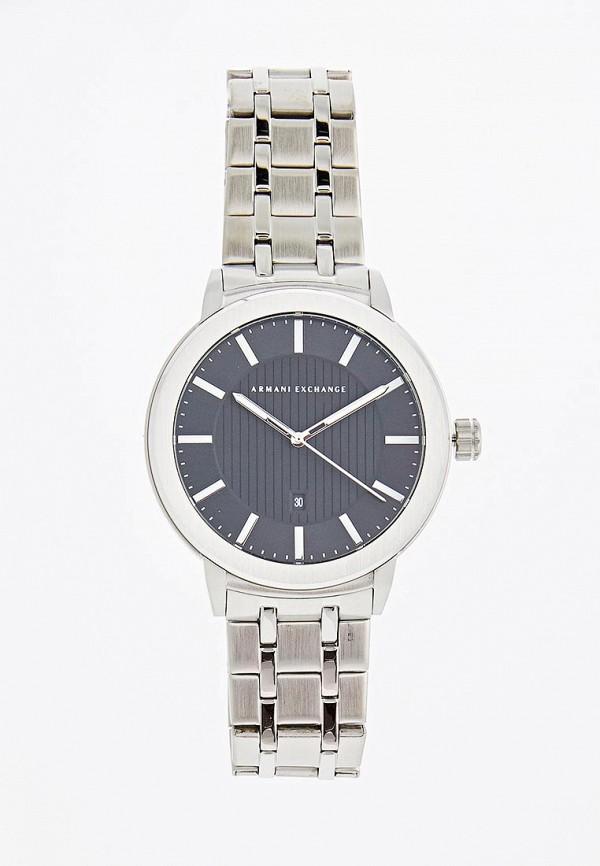 мужские часы armani exchange, серебряные