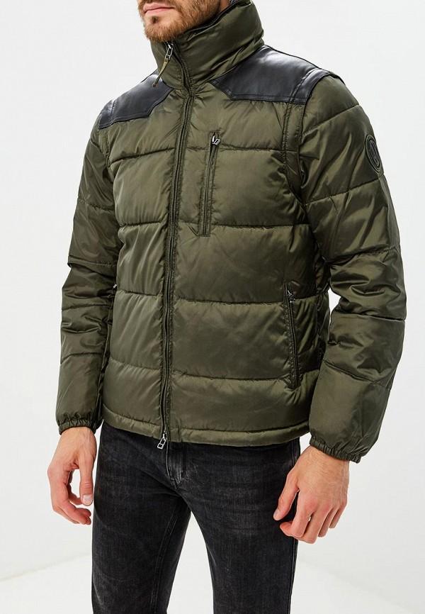 Купить Куртка утепленная Armani Exchange, AR037EMBLDQ3, зеленый, Осень-зима 2018/2019