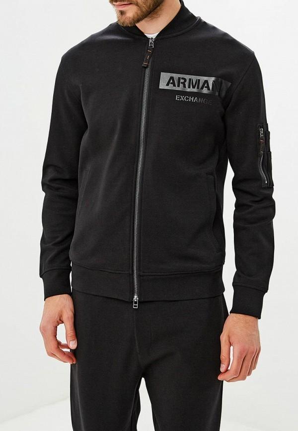 Купить Олимпийка Armani Exchange, AR037EMBLDS2, черный, Осень-зима 2018/2019