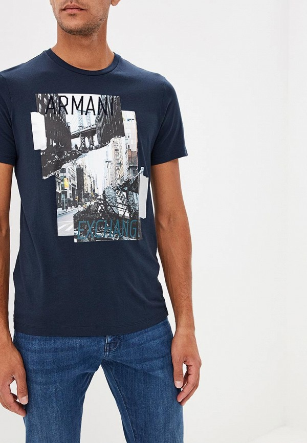 Футболка Armani Exchange Armani Exchange AR037EMBLDT3 футболка armani exchange armani exchange ar037ewzta17