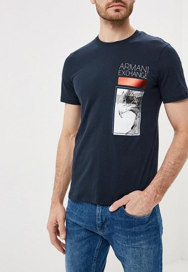 Футболка Armani Exchange Armani Exchange AR037EMBLDV8 футболка armani exchange armani exchange ar037ewzta32