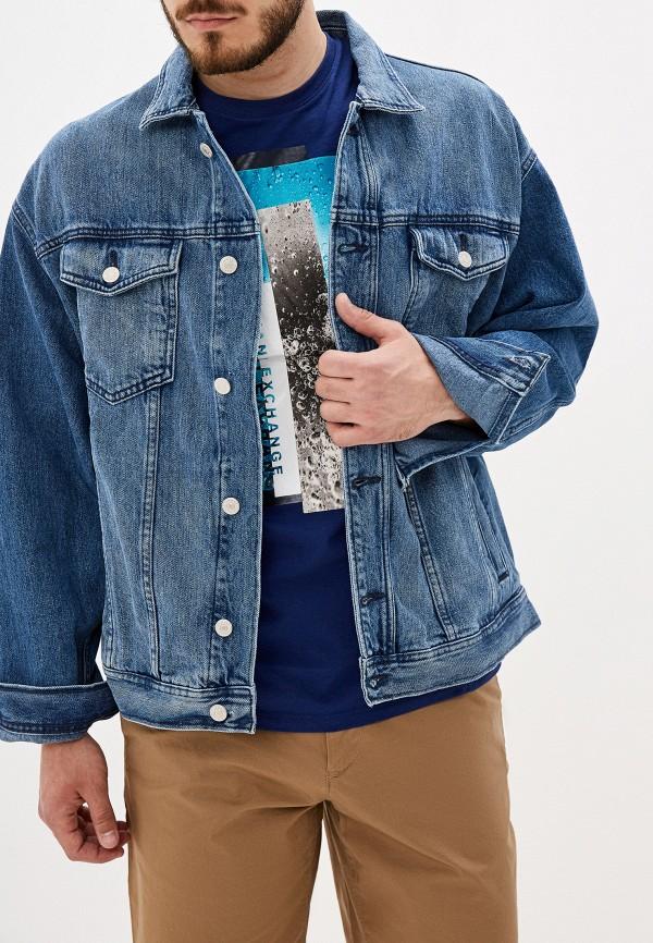 Куртка джинсовая Armani Exchange Armani Exchange AR037EMFLNG5 куртка кожаная armani exchange armani exchange ar037ewdpnx6