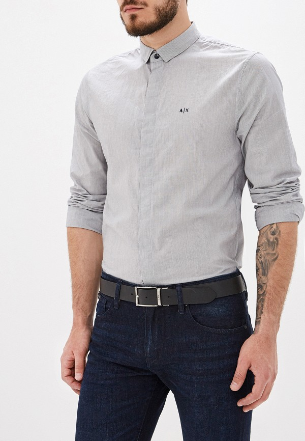 лучшая цена Рубашка Armani Exchange Armani Exchange AR037EMFLNH5