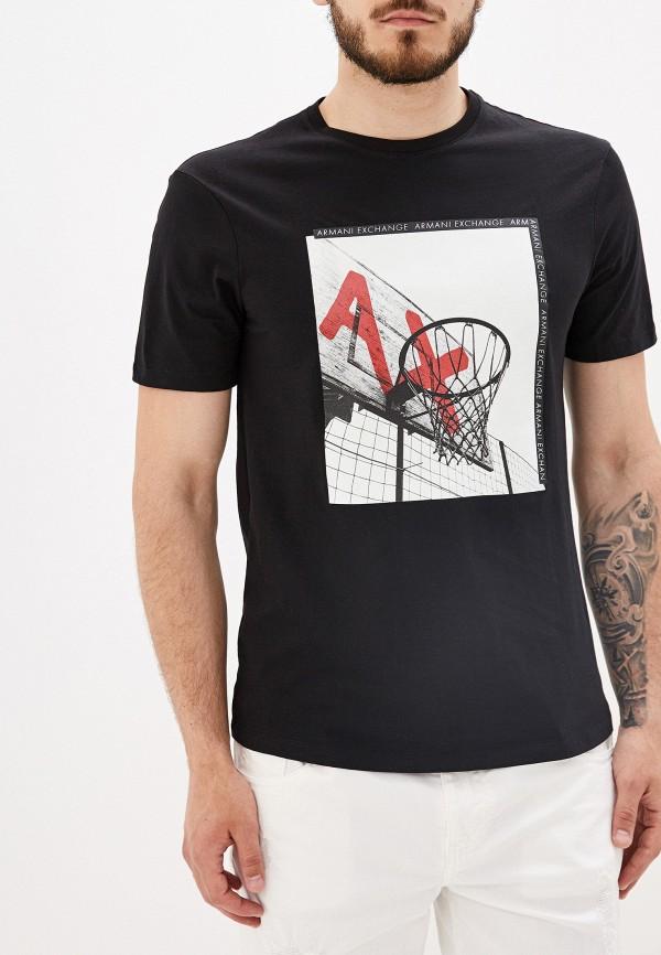 Футболка Armani Exchange Armani Exchange AR037EMFLNK8 футболка armani exchange 3zztdh zjh4z 4528