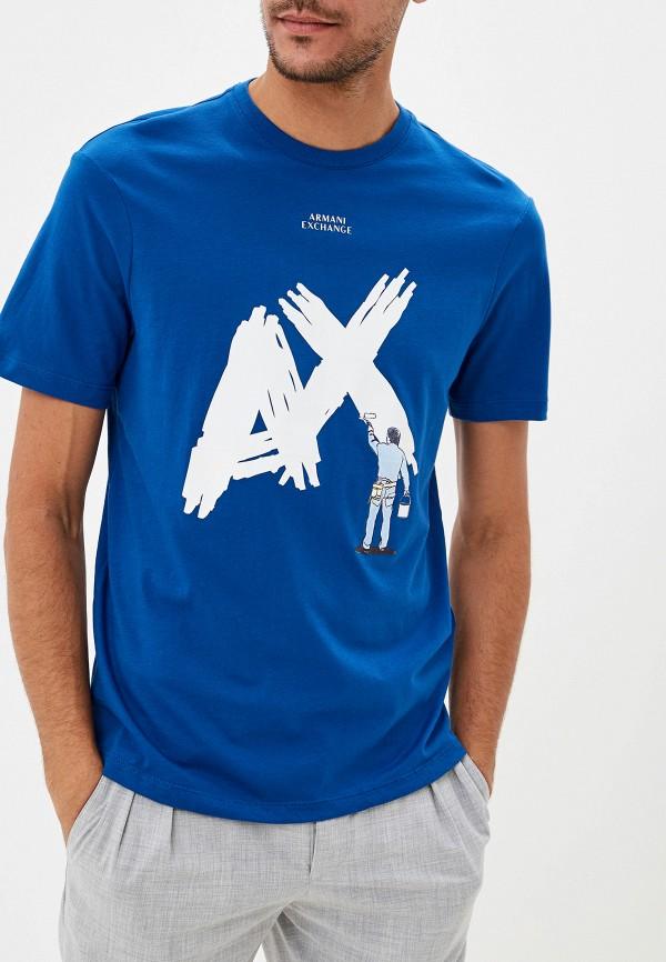 Футболка Armani Exchange Armani Exchange AR037EMFXNX3 цена 2017
